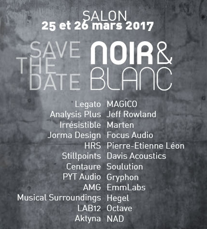 Salon Noir & Blanc