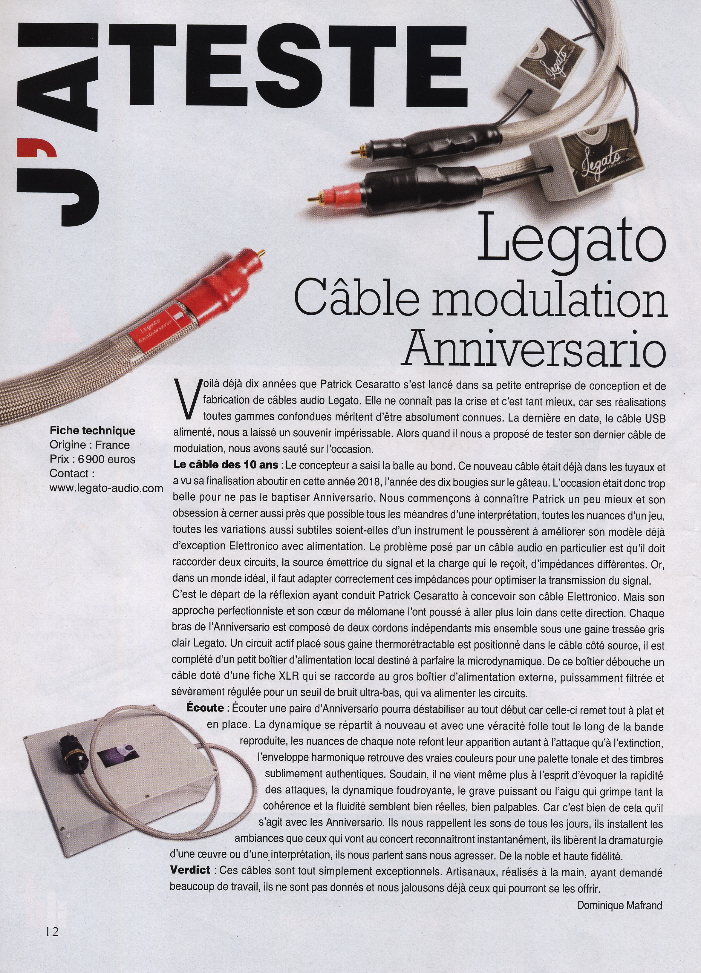 article anniversario