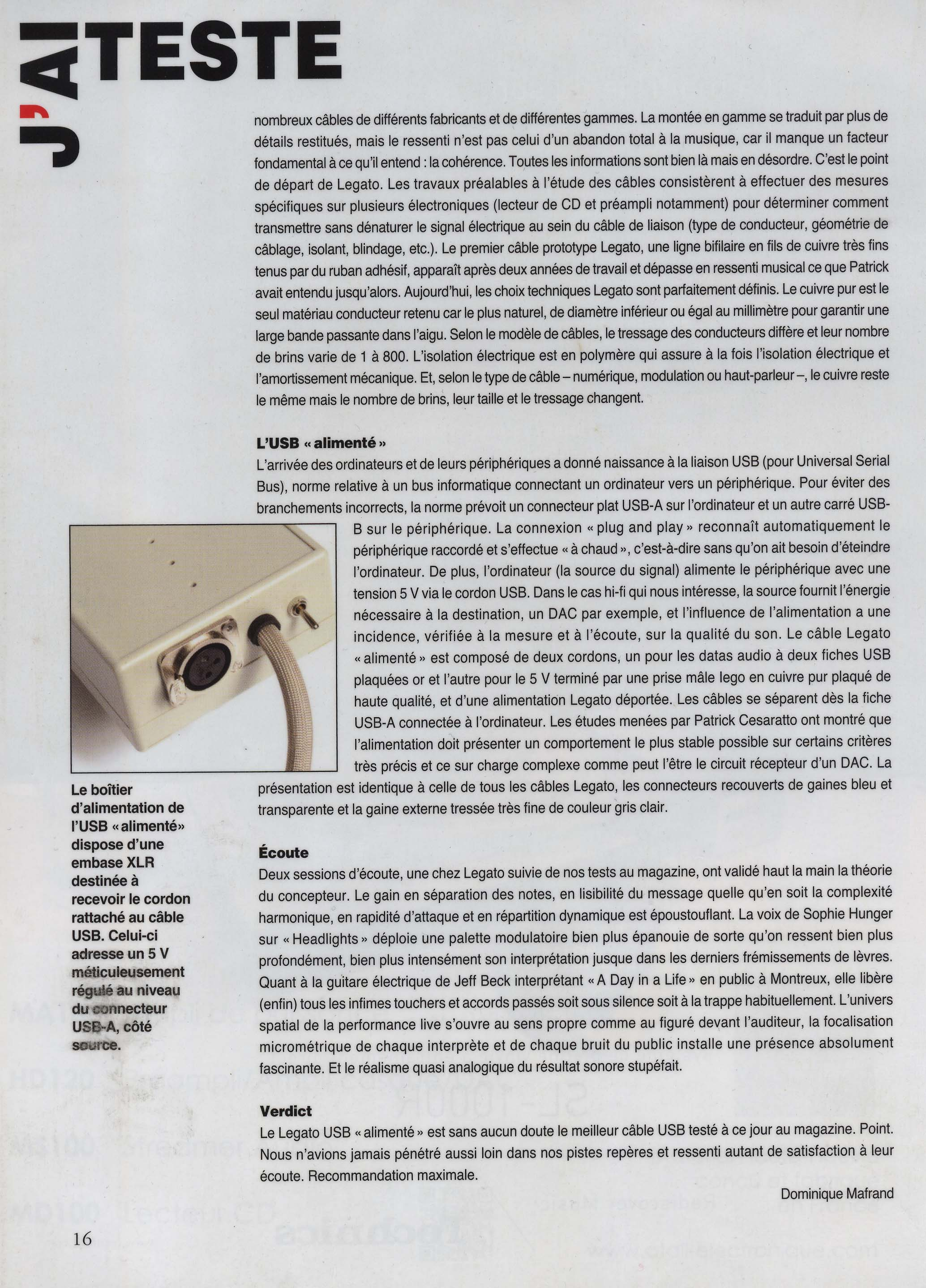 article USB alimenté 1